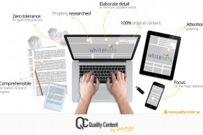 Whitehats launched dedicated website for content writing services