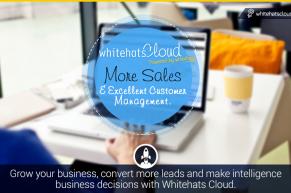 Whitehats Cloud, an Enterprise Social CRM Sales & Service Solution Launched by Whitehats